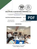 Boletín Rotario del 23 de abril de 2013