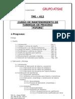 Tmi 412 - Mantenimiento de Tuberias de Proceso - Piping - Huelva
