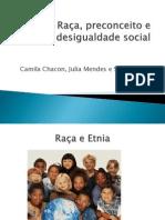 Raça, preconceito e desigualdade social