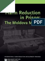 Harm Reduction in Prison Moldova