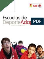 Dossier Escuelas de Deporte Adaptado