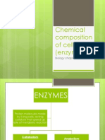 Chemical Composition of Cell (Enzyme)