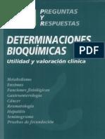 770 Preguntas y Respuestas Determinaciones Bioquímicas