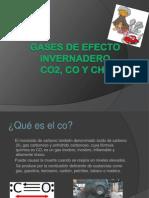 Gases de Efecto Invernadero (1)
