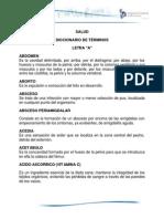 Salud Diccionario Terminos