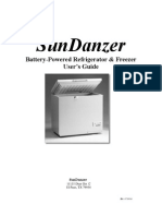 SunDanzer User Manual