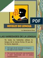 Niveles de Lengua