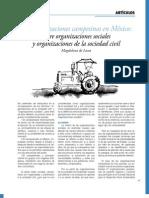 Sobre organizaciones campesinas México