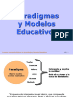 Paradigmas Educativos I