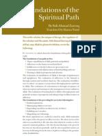 Foundation of the Spiritual Path Hamza Yusuf