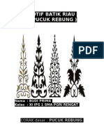Motif Batik Riau