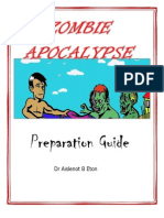 Zombie Apocalypse Preparation Guide