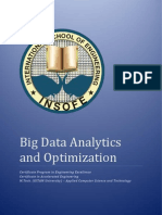 CPEE Big Data Analytics and Optimization Curriculum