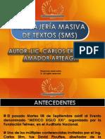 Propuesta de Mensajes Masivos de Textos 2010
