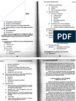 Extinguishment of Obligation General Provisions