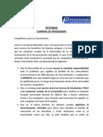 Petitorio Cec Periodismo 2013
