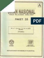Unas 0708 Matematika A