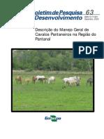 SANTOS 2005 Manejo Geral Cavalos Pantaneiros CPAP