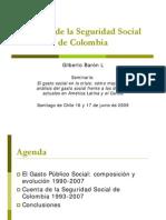 Colombia Gasto Social