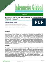 Alcohol y Embarazo, Intervencion en APS