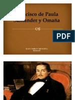 Unidad 3 Francisco José de Paula Santander y Omaña - Juan Camilo Cartagena