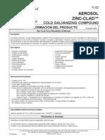 Aerosol Zinc Clad Cold Galvanizing Compound