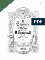 Campagnoli 24 Caprices for Viola