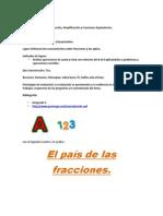 Fracciones (numeros mixtos) Amplificación y simplificación, equivalencia de fraccionarios