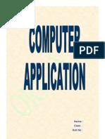 Computer Application Final