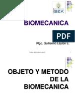 Clase 2 - 23-03-13 - Intro a la Biomecánica - Historia y Conceptos