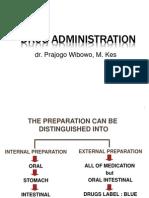 Drug Administration 2011
