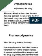 Pharmacokinetics&Dynamic