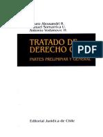 TRATADO de DERECHO CIVIL Parte General Alessandri - Somarriva - Tomo II