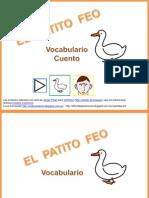 Cuento Patito Feo Vocabulario Pictogramas