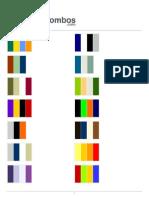 Combos.com Color Combination