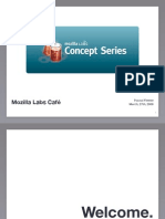 Mozilla Labs - Concept Series (Open Innovation)