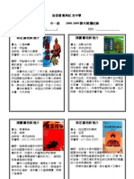 08-09課外閱讀紀錄WEB