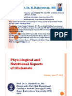 Physiological and Nutritional Aspects