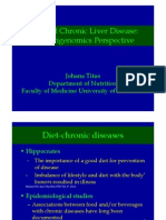 Nutrient and Chronic Liver Diseases a Prespective in Nutrigenomics
