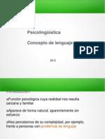 Clase 1 Concepto de Lenguaje