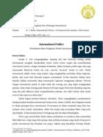 Review Pengantar Hubungan Internasional (International Politics)