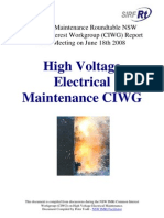 High Voltage Electrical Maintenance