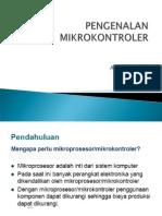 1. Pengenalan Mikrokontroller
