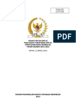 Pidato Penutupan MS III 2012-2013