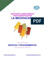 Paletas - La Michoacana