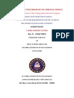 Design of Induction Program Andappraisal Module-Way Trading