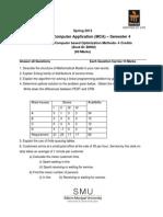 MC0079 Assignment Spring 2013