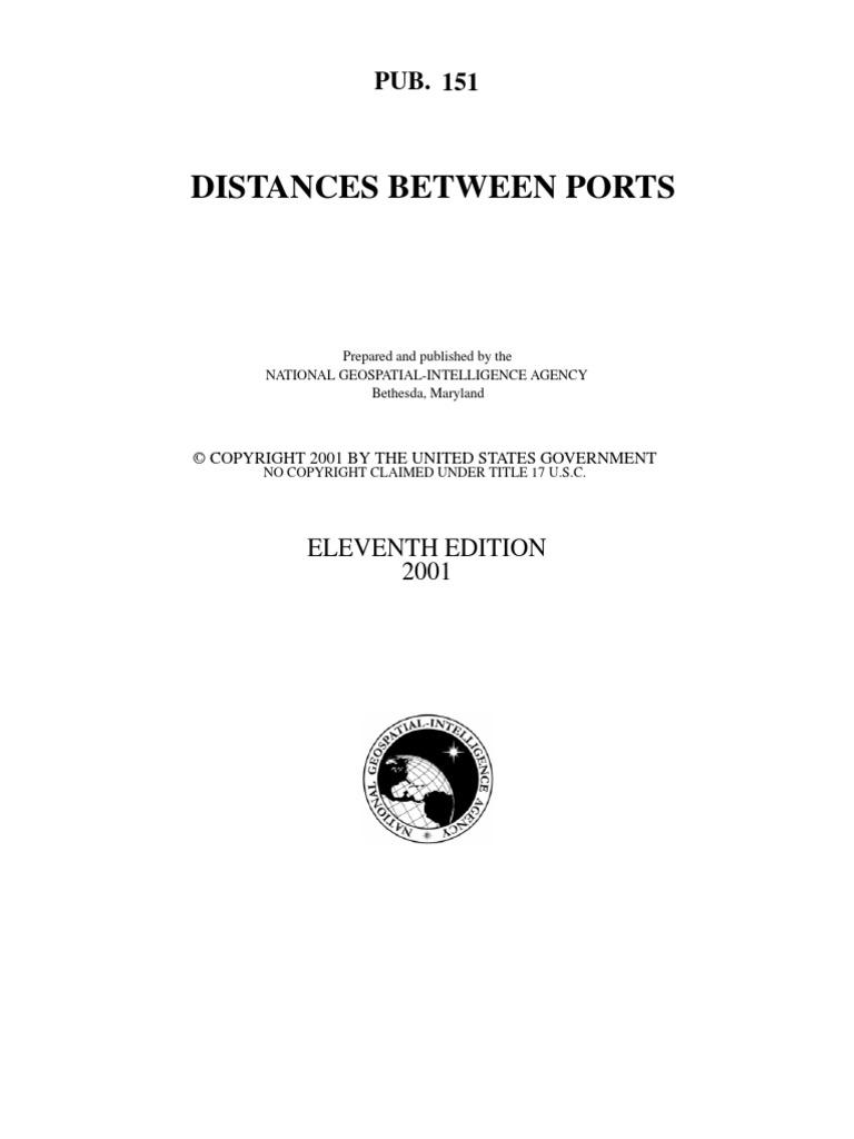 distance between ports