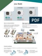 2011 Fujitsu General 2 to 4-Room-Multi