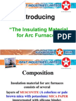 Insulation Material for Arc Furnaces